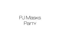 Organizzazione festa compleanno a tema Pjmasks Bergamo