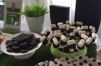 Decorazione buffet festa compleanno calcio