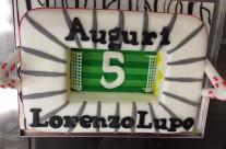 Torta compleanno stadio Juventus calcio