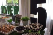 Candy buffet festa tema calcio Juventus