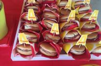 Allestimento buffet festa compleanno tema Alvin