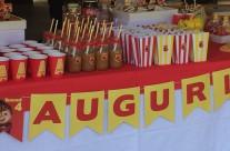 Buffet festa compleanno tema Alvin