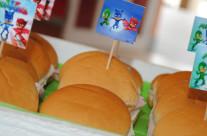 Organizzazione festa compleanno Pjmasks