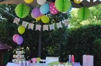Organizzazione party a tema unicorni e arcobaleni Bergamo
