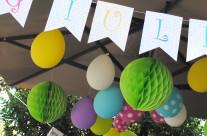 Organizzazione festa a tema unicorni e arcobaleni Bergamo