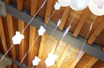 allestimento baby shower party