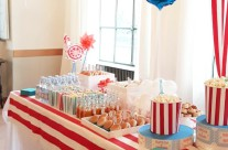 allestimento buffet party festa luna park bergamo