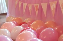 allestimento baby shower party compleanno