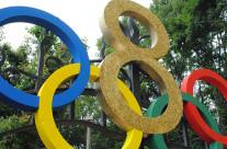 Allestimento festa a tema Olimpiadi