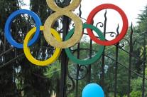 Allestimento party tema Olimpiadi