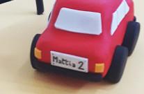 Dettaglio torta cars Mattia