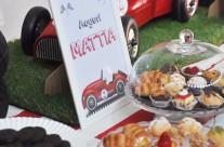 Buffet festa a tema cars Mattia