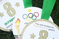 Invito festa a tema Olimpiadi