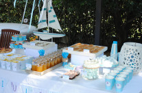 Buffet party tema mare