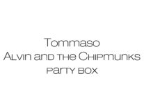 PARTY KIT ALVIN AND THE CHIPMUNKS BERGAMO